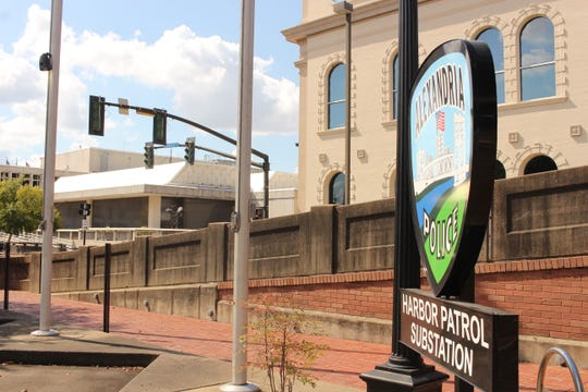 The Harbor Patrol substation in downtown Alexandria, adjacent to the bus depot, is one of the primary monitoring stations for security cameras being installed in the area.