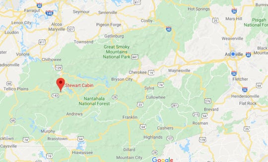 Authorities are investigating a death in Nantahala National Forest, which is 100 miles from Asheville