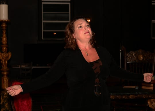 """Jill Gardner stars in the title role of Tri-Cities Opera's production of """"Tosca."""""""