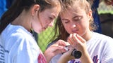 Cocoa Beach students participate in A day in the Life of the Lagoon.