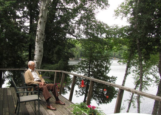 Bud's favorite place is the lake-front property in Ontario, Canada, he and his wife bought in the 1960s. It's a 10-hour drive from Bucyrus.