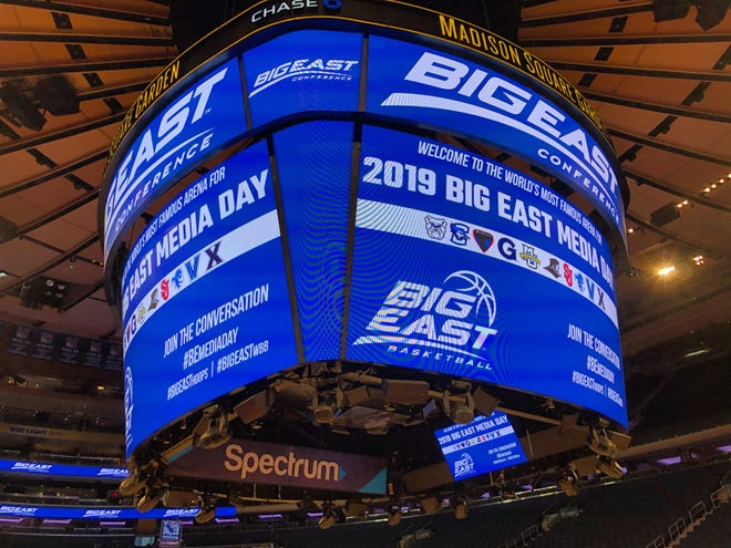 The Big East Conference held its media day for men's and women's basketball on Thursday, October 10, 2019 at Madison Square Garden.