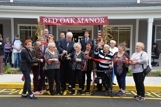 Red Oak Manor offers 60 fully-accessible apartments for senior citizens.
