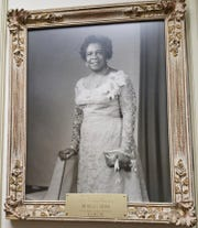 Portrait of Rosa Gragg, president of Detroit Association of Colored Women's Clubs