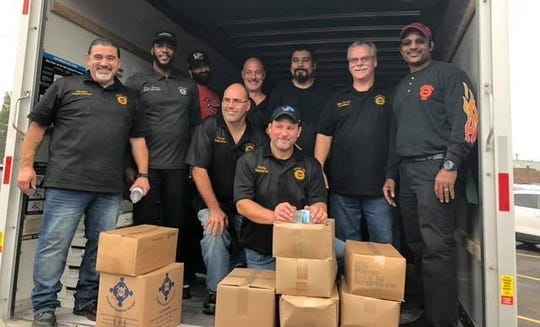 The United Auto Workers Local 961, representing Fiat Chrysler Automobiles NV employees, recently dropped off a donation of 30,000 pounds of fresh produce, canned and dry goods to UAW Local 22, representing striking General Motors  employees at the Detroit-Hamtramck plant.