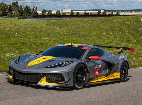 Mid Engine Corvette C8 R Race Car Makes Its Debut