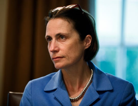 Fiona Hill, former senior director for European and Russian Affairs on the National Security Council, is expected to testify before three House committees on Monday .