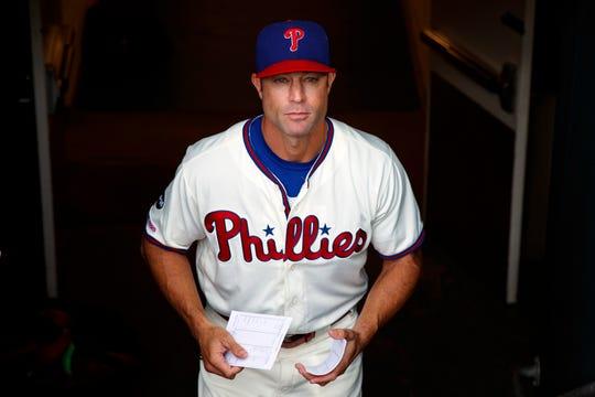 Former Tiger Gabe Kapler was fired Thursday as the Philadelphia Phillies manager.