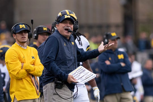Michigan defensive coordinator Don Brown says his focus is on stopping Alabama's potent attack.