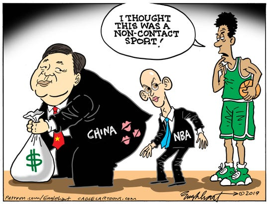 China's cash and NBA.