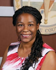 Ami Desamours is the Lee County school district's chief financial officer.