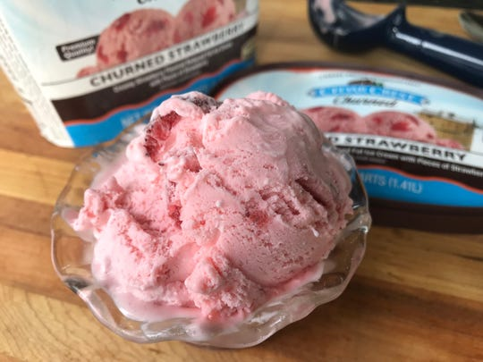 "Cedar Crest Churned Ice Cream isn't necessarily ""healthy,"" it is tasty as the regular versions but with fewer calories and less fat"