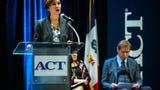 Watch Iowa Gov. Kim Reynolds, Marten Roorda, CEO of ACT, Debi Durham, director of the Iowa Economic Development Authority, and more, Oct. 10, 2019.