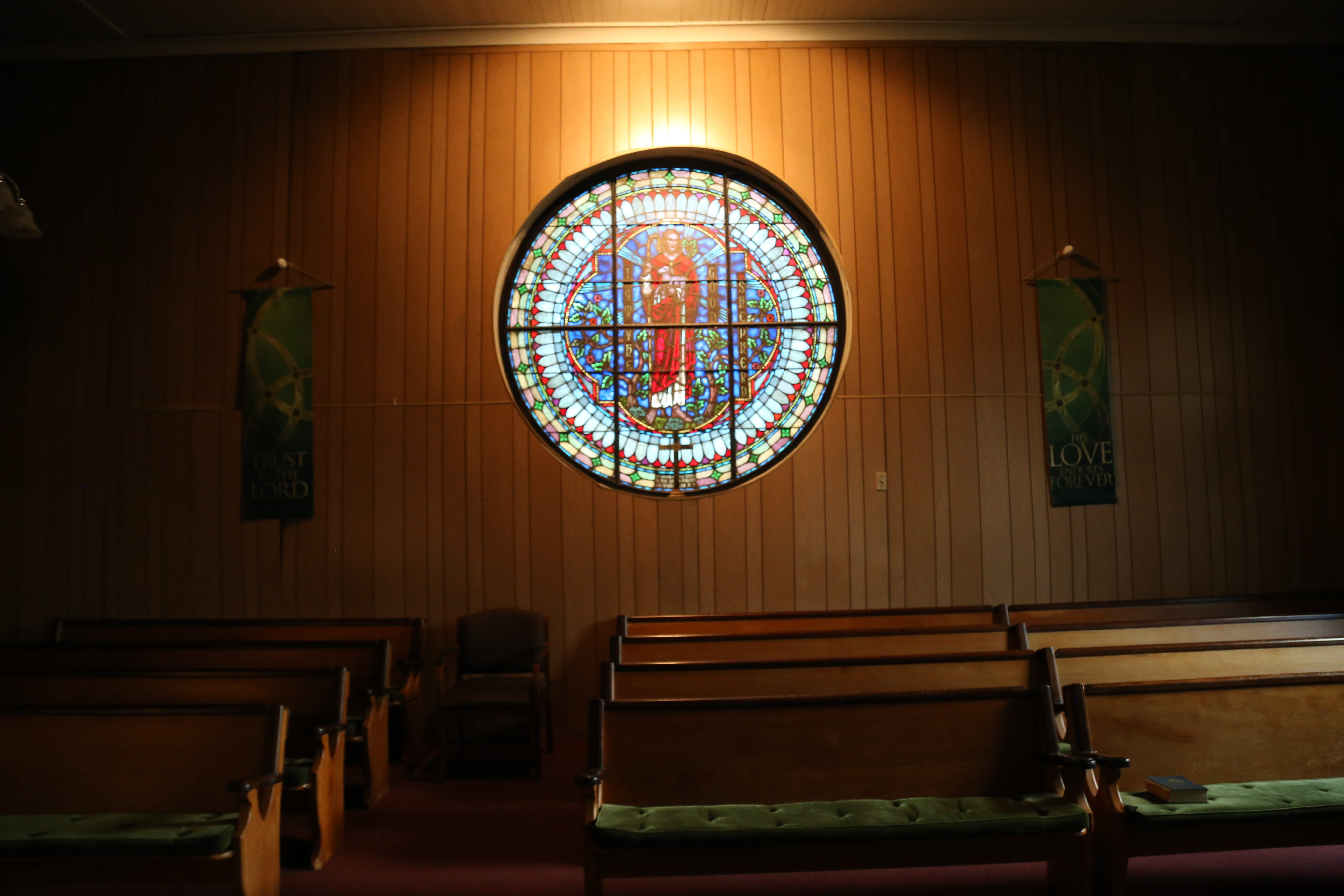 St. James AME Zion Church in Ithaca, N.Y.