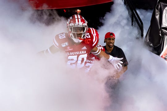 Louisiana Ragin Cajuns take on App State at Cajun Field.  Wednesday, Oct. 9, 2019.