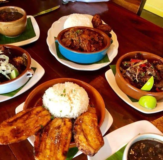 Cuban cuisine at La Bodeguita De Mima