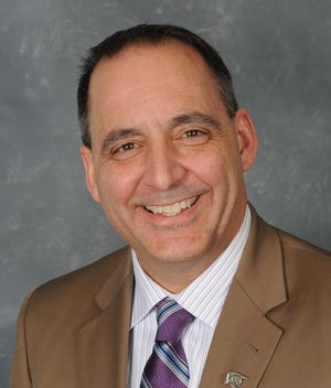 Acting Lansing Schools Superintendent Mark Coscarella, in an undated file photo.