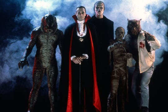 "What happens if you cry out ""Creatures Congregate!"" instead of ""Avengers Assemble!""? You may get a visit from ""The Monster Squad."" (You can see them Saturday at the Summer Drive-In.)"