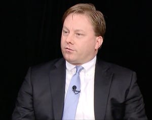Mike Duffey, former executive director of the Wisconsin Republican Party, is shown during a 2016 interview on WisconsinEye.