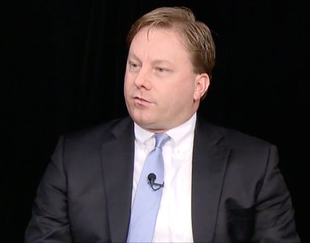 Michael Duffey, former executive director of the Wisconsin Republican Party, is shown during a 2016 interview on WisconsinEye.