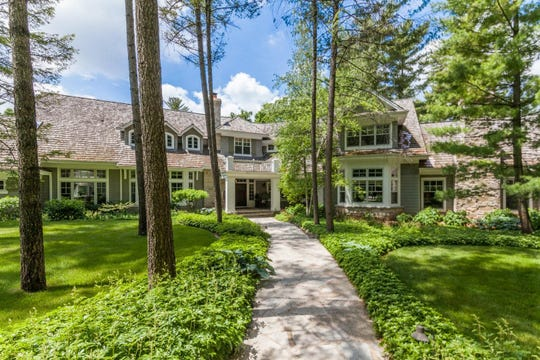 A home on Sawyer Road on Oconomowoc Lake sold for $5.1 million.