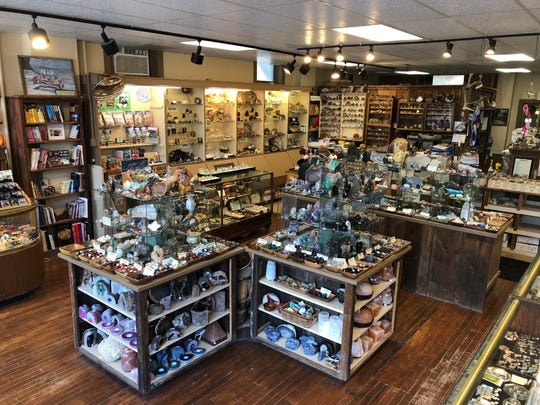 The Gem Shop in Cedarburg specializes in two types of quartz called agates and jaspers.