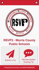 Users can download the RSVP-3 app on their phone and report threats to school safety anonymously and at any time.