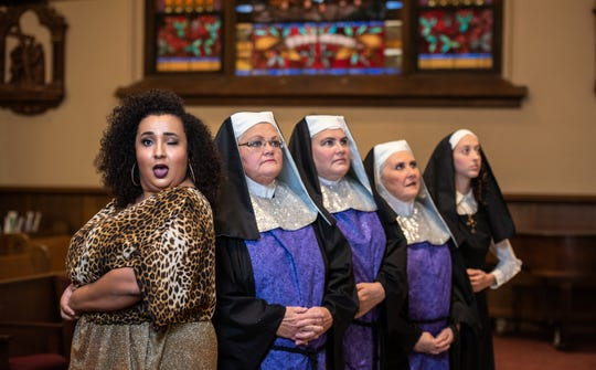 "Muncie Civic Theatre will present ""Sister Act"" on its Mainstage Oct. 11-12, 18-20 and 24-26."
