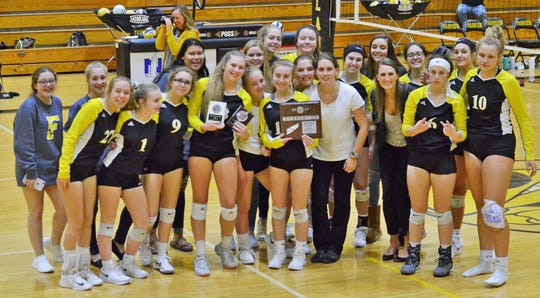 The Fairview Lady Jackets volleyball team was named District 12AA Runner-Up after back-to-back five-set games.  Defeating Creekwood, but loosing to Camden after five hours of play.