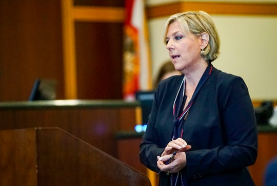 Opening statements from the defense and prosecution in the Jimmy Rodgers trial at the Lee County Justice Center, Fort Myers, FL, October 10, 2019. He is on trial for the murder of Teresa Sievers.