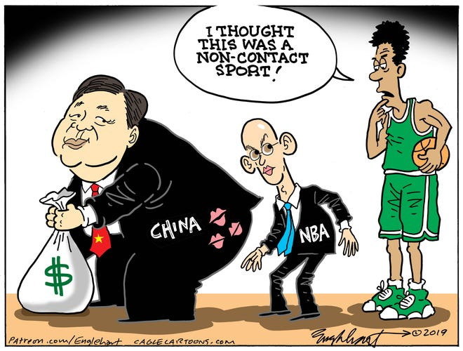 China's cash and NBA.