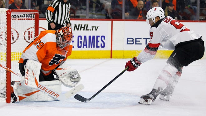 Nj Devils Without Andy Greene Against Edmonton Oilers