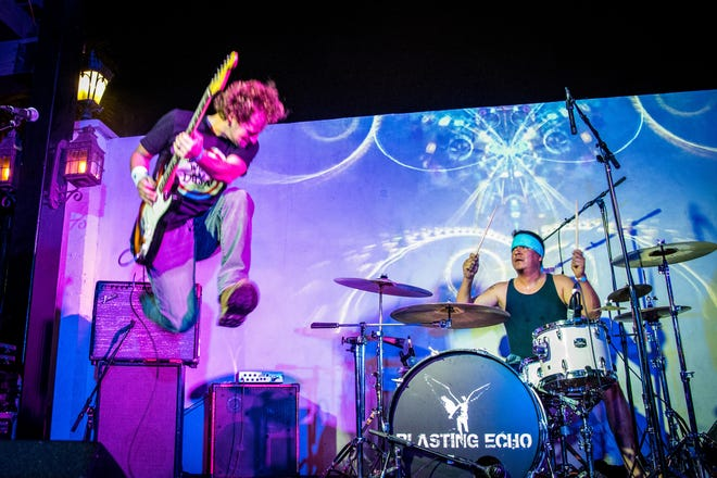 Josh Heinz from Blasting Echo hosts his 12th Annual Concert for Autism at The Tack Room Tavern, Indio, Oct. 18-19, 2019