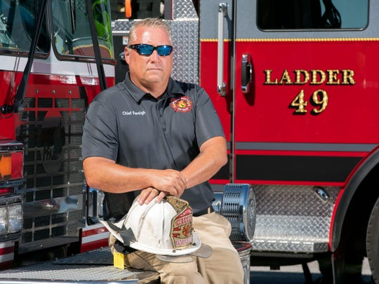 Navarre Beach Fire Rescue Chief Danny Fureigh says he's not backing down on his effort to create a special fire district, even after voters failed to come up with a 60% majority for a non-binding referendum in Tuesday's special election.
