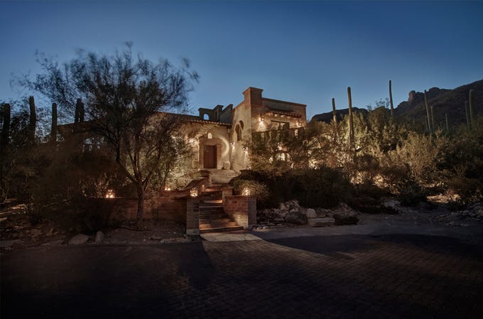Arizona developer Don Diamond's 7,700-square-foot mansion in Tucson is on the market for $4.5 million.