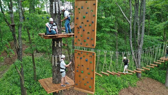 Barton Orchards in Poughquag is celebrating the harvest season with all things cider along with a new Treetop Adventures Park.