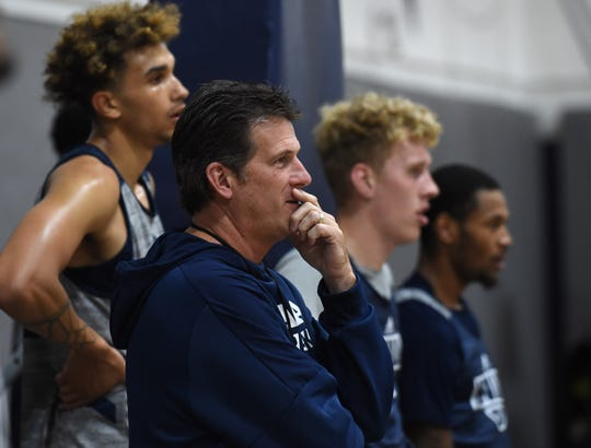 Nevada's Steve Alford will begin his 29th season as a head coach when the Wolf Pack hosts Utah on Tuesday night.