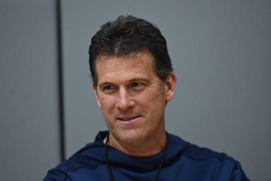 Steve Alford has a 10-year contract with the University of Nevada, Reno. He says he's tired of moving, and he likes the West.