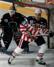 Denis Hamel got his start in pro hockey with the Rochester Americans in 1997-98. He played for seasons for the Amerks, scoring 10, 16, 34 and 27 goals. He led the AHL with 56 goals for Binghamton in 2005-06.