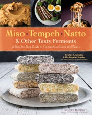 Miso, Tempeh, Natto & Other Tasty Ferments: A Step-by-Step Guide to Fermenting Grains and Beans. A new book from the authors of Fermented Vegetables is here to help passionate picklers take on new territory; fermenting grains and beans.