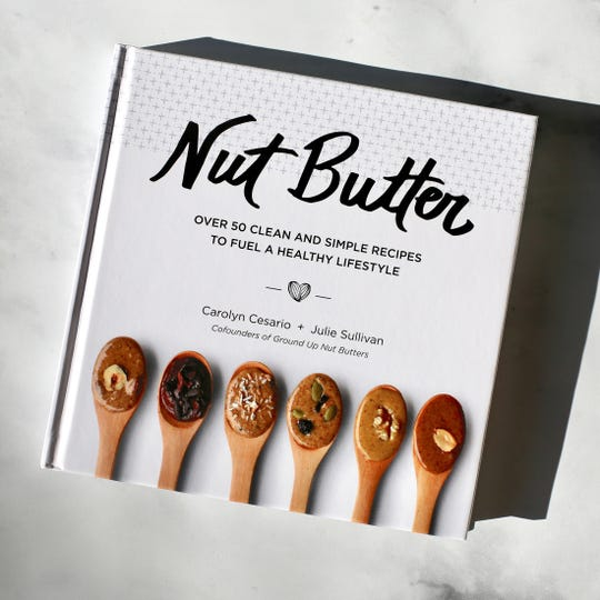 Nut Butter: Over 50 Clean and Simple Recipes to Fuel a Healthy Lifestyle. It's a collection of recipes nut butters–hazelnut, almond, cashew, and so on–free of refined sugars, peanuts, gluten and dairy.