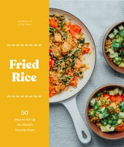 Fried Rice: 50 Ways to Stir Up the World's Favorite Grain. This book is a collection of 50 recipes that starts with tips for making fried rice and traditional flavor profiles–think Indonesian Fried Rice and Chinese Fried Rice with BBQ Pork.
