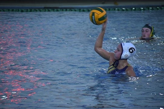Notre Dame junior Laura Vetter (6) tallied 11 goals and 10 steals last week for the Spirits.