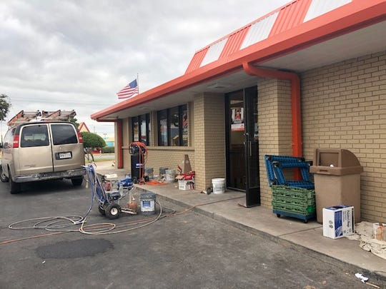 The Whataburger at 3202 Sherwood Way in San Angelo is closed until Oct. 14 for renovations.