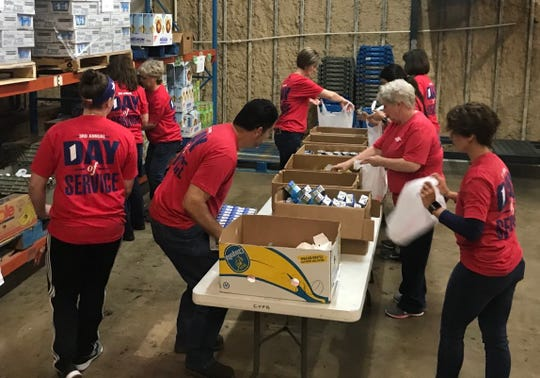 Employees of First Financial Bank in San Angelo will participate in the lender's fourth-annual Day of Service event Monday, Oct. 14. The bank will be closed that day.