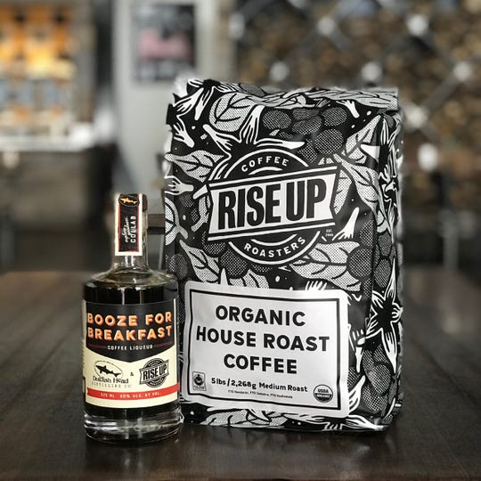 Have a fresh cup of coffee — liqueur, that is — with the new breakfast spirit by Dogfish Head and Rise Up Coffee Roasters.