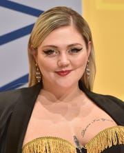 From the cat's eye period: Elle King at the CMA Awards on Nov. 2, 2016, in Nashville, Tenn.