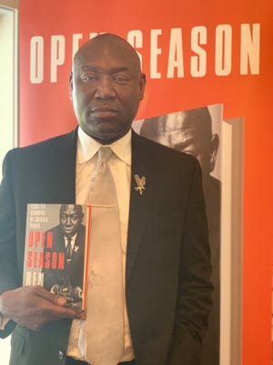 """Tallahassee attorney Ben Crump, the country's leading civil rights attorney, has written a new book called """"Open Season"""" that hits shelves Oct. 15."""