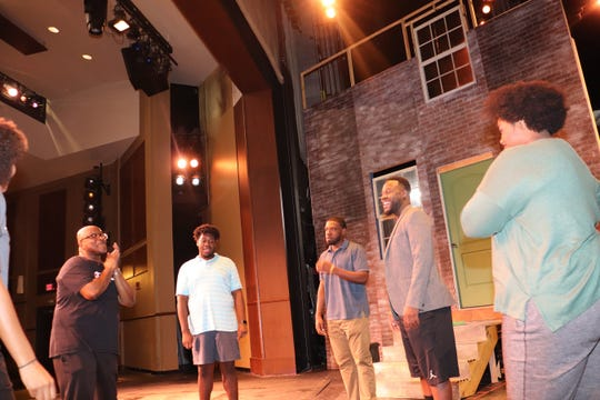 "Luther Wells directs ""King Hedley II"" at FAMU Essential Theatre."