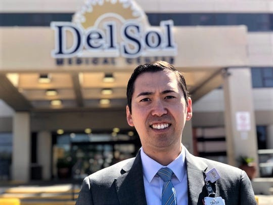Brian Allen, new chief operating officer at Del Sol Medical Center in East El Paso.